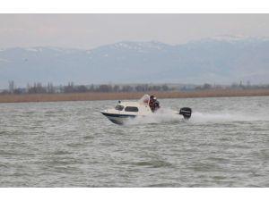 Beyşehir Gölü'nde Denetim Yapan Ekibe Saldırı