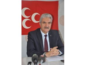 MHP Afyonkarahisar İl Başkanı Raşit Demirel: