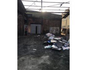 Yalıtım Fabrikasında Korkutan Yangın