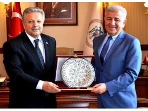 ERSİAD Ankara Başkanı Tavşanoğlu, Vali Kahraman'ı Ziyaret Etti