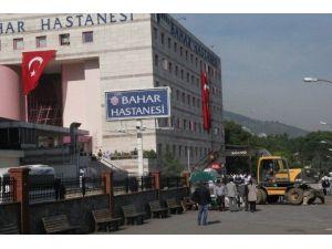 Bursa'da Hastanenin Kaçak Duvarı Yıkıldı