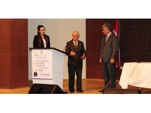 """ETÜ'de """"Uluslararası Ekonomik Eğilimler Ve Türkiye"""" Konulu Konferans"""