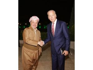 Biden, Barzani ile bir araya geldi
