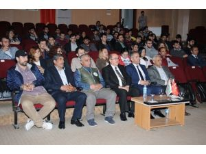 """Iğdır Üniversitesi'nde """"İnsan Ve Çevre Kirliliği"""" Konulu Panel"""