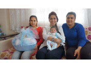 Milas'ta 'Hoşgeldin Bebek' projesinde 350 aileye ulaşıldı