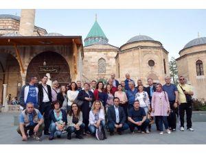 Balkanlardan Gelen Tarihçiler Konya'da Tarihe Yolculuk Yaptı