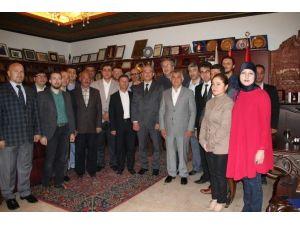 AK Parti Merkez İlçe Yöneticileri Ünver'i Ziyaret Etti