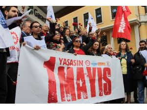 Sendikalardan Taksim'de 1 Mayıs Açıklaması
