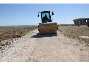 Eyyübiye Belediyesi Yol Yapım Çalışmalarını Sürdürüyor