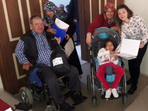 Biga'da Engellilere Afet Eğitimi Verildi