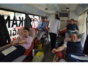 Kabadüz'de Kan Bağışı Kampanyası