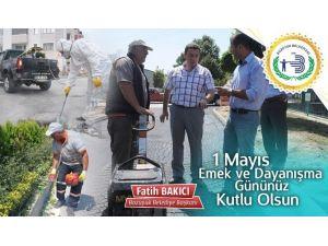 Başkan Bakıcı 1 Mayıs İşçi Bayramı'nı Kutladı