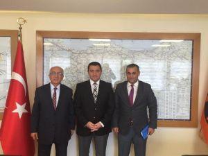 Başkan Bakıcı Karayolları Bölge Müdürlüğünü Ziyaret Etti