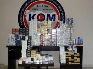 İzmir'de Kaçakçılara Operasyon: 4 Gözaltı