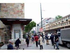Bursa'da Tarihi Çeşmede Bomba Paniği