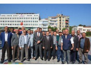Şehzadeler Çiftçileri İzmir Tarım Fuarını Gezdi
