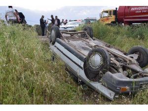 İzmir'de Trafik Kazası: 1 Yaralı
