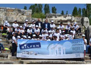 İzmirli Öğrencilerden Afrodisias'a UNESCO Desteği