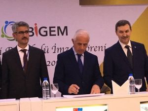 Bölgesel İnsan Kaynakları Geliştirme Merkezi Protokolü Törenle İmzalandı