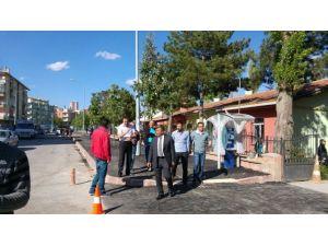 Niğde Belediyesi'nde Süleyman Fethi Caddesi'ne Modern Kaldırım