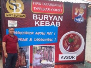 Siirt Büryan'ı Kazakistan'da Uzandı