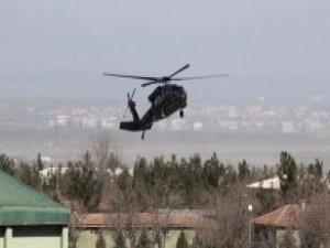 Operasyondan Dönen Helikopter, Yaralı Kız İçin Seferber Oldu Ama Kurtaramadı