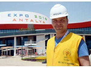 EXPO 2016, İş Güvenliğinde Türkiye'ye Örnek