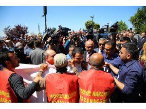 Kılıçdaroğlu'na işçi protestosu