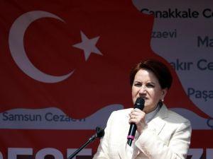"""Akşener: """"İki Hakimi HSYK'ya Şikayet Edeceğiz"""""""