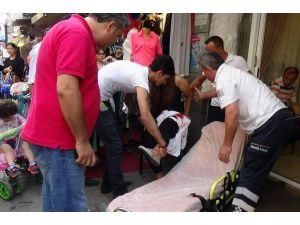 Eski Karısını Sokak Ortasında Yaraladı