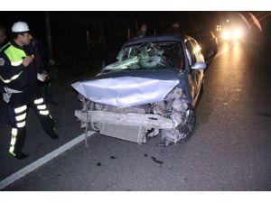 Ereğli'de kaza: 1 yaralı