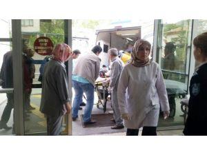 Öğrencileri Taşıyan Servis Minibüsü Şarampole Yuvarlandı