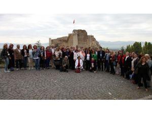 Kadın Muhtarlar Elazığ'ı Gezdi