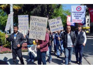 Maden İşçileri 1 Mayıs'ta Eylem Yaptı