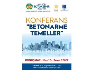 'Betonarme Temeller' Konulu Konferans Düzenlenecek