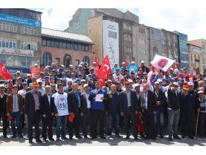 Gökçan, 1 Mayıs İşçi Bayramını Kutladı