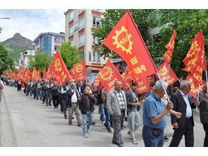 Tunceli'de 1 Mayıs Kutlaması Sakin Geçti