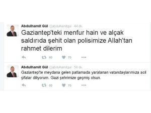 Gaziantep'teki Terör Saldırısına Tepki Yağdı