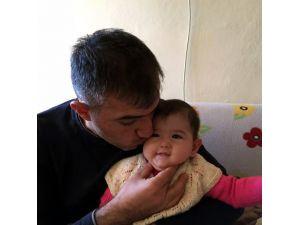Şehitten geriye 10 aylık kızıyla çektirdiği fotoğrafı kaldı