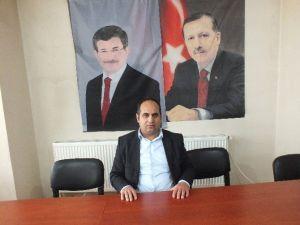 AK Parti Malazgirt İlçe Teşkilatından, Başbakan Davutoğlu'na Teşekkür
