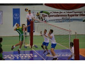 Ünilig Voleybol Finalleri Ortaca Ve Dalaman'da Başladı