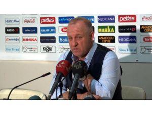 Mesut Bakkal: Sivas için talihsiz bir maçtı
