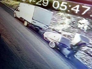 Kamyonet Ve Şap Makinesini Çalan Şahıs Tutuklandı