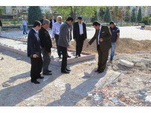 Başkan Kale Park Çalışmalarını İnceledi
