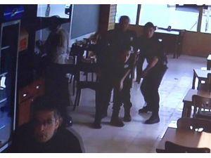 Gaziantep'te Patlama Anındaki Polislerin Paniği Güvenlik Kamerasında