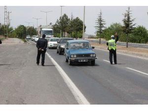 Nevşehir'in Giriş Ve Çıkışları 24 Saat Kontrol Ediliyor