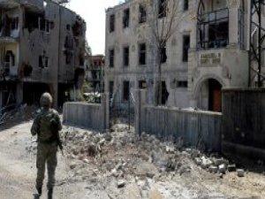 Teröristlerin Darusselam Camisi'nde Verdiği Tahribat Ortaya Çıktı