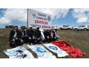 Ardahan'da Şehitler Anısına Fidan Dikimi Yapıldı
