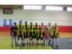 Dicle Üniversitesi, Futsal 1. Lig'de grup şampiyonu oldu
