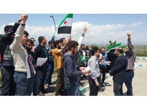 Üniverite Öğrencilerinden Halep Halkına Destek